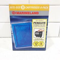 Penguin Marineland Filter Power Rite Size B Cartridges 125 150 New 6 Pack