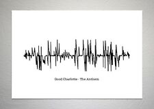 Good Charlotte - The Anthem - Sound Wave Print Poster Art