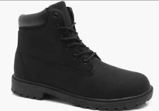 Boohoo Men's Worker Boots  Style Black Size UK 11 EU 45 NH07 37