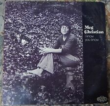 "MEG CHRISTIAN ""I Know You Know"" LP 1974 OLIVIA Records LF 902 EX Vinyl"