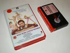 Betamax Video ~ The Man Who Loved Women ~ Ex-Rental Pre-Cert ~ RCA/Columbia
