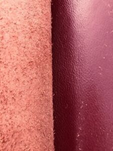 *Clearance Sale* Burgundy Cow Hide Skin Full Hide Upholstery leather