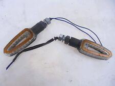 COPPIA FRECCE LED ANTERIORI BMW R 1200 GS 2002 - 2012 LED WINKERS NON ORIGINALE