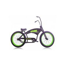 Micargi ROYAL DUTCH Chopper Oversize Beach Cruiser Fat Tire  Matte Black Snow
