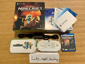 PS Vita Minecraft Special Edition PCHJ 10031 BOX Console Charger PlayStation