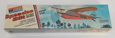 Monogram Speedee Bilt Flying Model SEALED Piper Club 1975