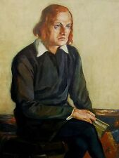 Paul Krüger 1886 Sünna / Rhön - Essen / Josef Kainz als Hamlet / großes Portrait