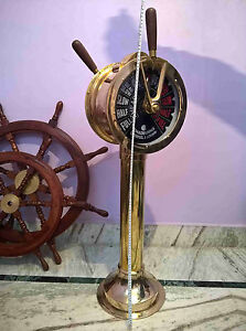 Big Ship's Telegraph Brass Engine Order Antique Maritime Collectible Decorative