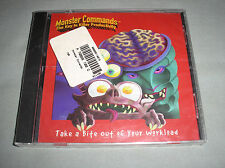 Monster Commands The Key to Killer Productivity PC Computer CD Game OOP RARE NEW