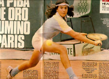 TENNIS GABRIELA SABATINI YOUNG SEXY PHOTOS MAG 1984