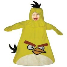 NEW Angry Birds Yellow Bird Cute Infant Dress Up Costume Size Birth - 9 Months
