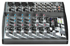 Behringer XENYX 1202FX 12-Channel Audio Mixer w/ 100 Built-in Effects Processor