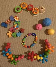 Baby Sensory Toy And Wooden Toy Bundle
