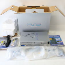 Boxed-Original Satin Silver Sony PS2 Playstation 2 Konsole SCPH - 50003-neuwertig