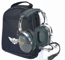Avcomm AC-200 Pilot Aviation Headset with FREE Headset Bag - AC-200V2
