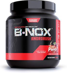 Betancourt B-NOX AndroRush Pre-Workout 35 servings Nitric Oxide Tribulus ZMA