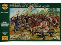 Zvezda - Medieval peasant army - 1:72