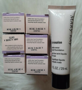 MaryKay TIMEWISE MATTE WEAR LIQUID FOUNDATION - you Choose Shade - DISCONTINUED