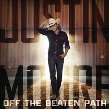 Justin Moore : Off the Beaten Path CD