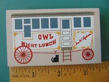 Fj Designs The Cat's Meow Village 1994 Accessory, #219 Lunch Wagon