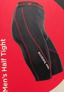 New Balance Fitness Compression Men's Half Tight Size X Large RRP $79.99