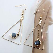Women Triangle Bohemia Boho Tassel Jewelry Drop Dangle Earrings 1 Pair