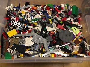 LOTTO LEGO 1KG PEZZI MISTI VARI LOTTI PULITI E SELEZIONATI