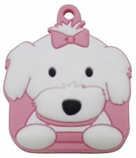 Love Your Breed Maltese Girl Soft Key Cover by Fou Fou