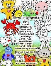Conozca a Sus Amigos Animales Libro 1 para Los niños de MÚLTIPLES FINES Libro...
