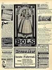 Erven-Lucas-Bols Amsterdam seit 1575 Ad 1906