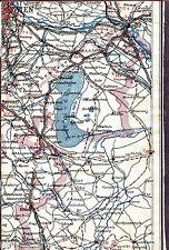 Wien Bratislava Eisenstadt 1928 Auto-Teilkarte/Ln. Deutschkreutz Köszeg Bruck/L.