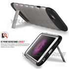 iPhone 6 Case 4.7 Heavy Duty Shock Proof Dual Layer Armour Gun Black Stand Cover