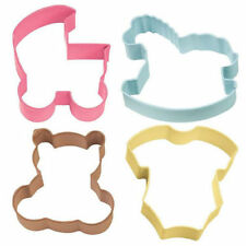 Wilton Baby Shower Theme 4 pc Cookie Cutter Set from Wilton #1067 - NEW