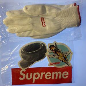 Supreme Rubberized Gloves FW20 100% Authentic plus random 3 stickers