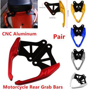 Motorcycle Rear Grab Bars CNC Aluminum Handle For HONDA Grom MSX125 & Wangjiang