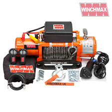 ELECTRIC WINCH LD 13500lb 12V SYNTHETIC ROPE WINCHMAX