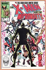 X-MEN and the MICRONAUTS #1 2 3 4 complete set Marvel Comics 1983 HIGH GRADE