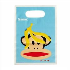 PAUL FRANK FAVOR BAGS (8) ~ Birthday Party Supplies Treat Loot Goody Plastic