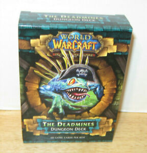 WOW World of Warcraft ~ The Deadmines Dungeon Deck ~ NEW & SEALED