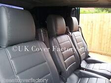 MERCEDES Vito minibus 8 / 9 places couvre siège matelassé gris-Premium Cuir PVC