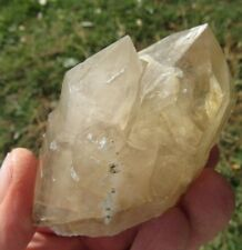 Smoky Citrine Quartz Crystal: Beautiful Sharp Double Point, Hallelujah Junction