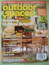Brand NEW! Better Homes Gardens Outdoor Spaces Fantastic! 2015 FREE SHIPPING!