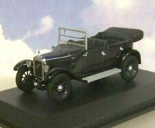OXFORD DIECAST 1/43 1934 AUSTIN HEAVY TWELVE 12/4 COBALT BLUE/BLACK OPEN AHT003