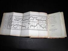 NORDEN Voyage Egypte et Nubie ATLAS COMPLET 23 PLANCHES CARTE Dépliante 1799