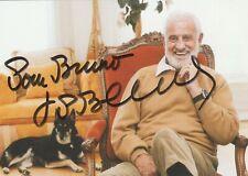 Autographe Original: JEAN-PAUL BELMONDO.