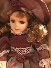 Victorian Beauty Porcelain Doll