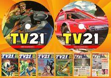 TV 21 + TV Century 21 Comics & More On Two DVD Rom's