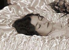 Antique Post Mortem Casket Photo Bizarre Odd Freaky Strange