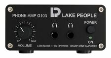 Cuffie STEREO AMPLIFICATORE, Cinch ingressi, Lake people g103-s