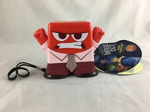 """Disney D'Apres Le Film Inside Out Anger Flashlight Sound Effects. 3.5"""" tall NWT"""